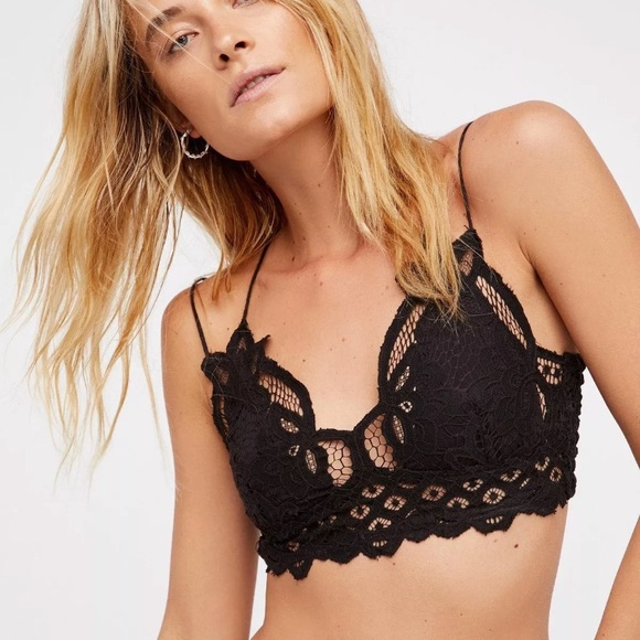 56e81a7545e Free People Other - Free people Adella bralette Black small